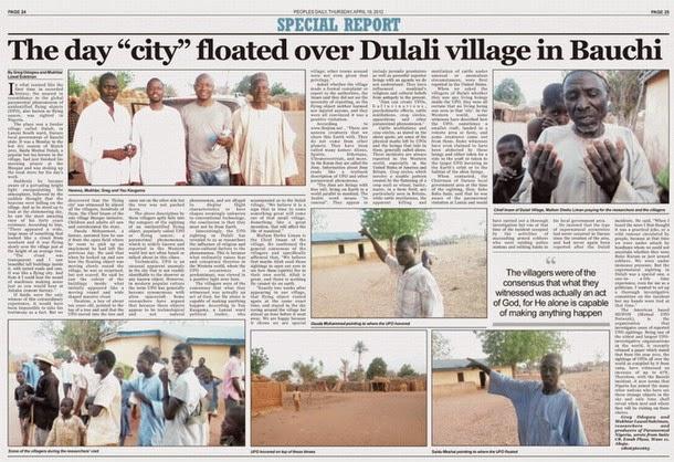 Habitantes de una aldea ven una ciudad flotante en el cielo de Nigeria Wpid-wp-1430292703372