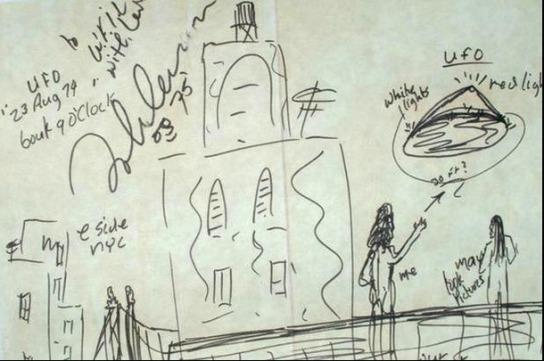 Resultado de imagen de Lennon extraterrestre